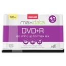 Maxell DVD Recordable Media - DVD+R - 16x - 4.70 GB - 50 Pack Spindle, 120mm2 Hour Maximum Recording Time