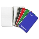 Mead Coil Memo Notebook, 60 Page - 15 lb - College Ruled - 5