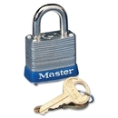 Master Lock High Security Keyed Padlock, Keyed Different - Steel Body, Steel Shackle - Silver