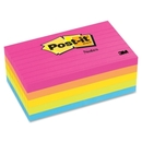 Post-it Neon Fusion Collection Lined Notes, Self-adhesive, Repositionable - 3