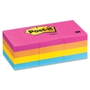 Post-it Notes in Neon Colors, Self-adhesive, Repositionable - 1.50