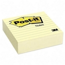 Post-it Ruled Adhesive Note, Self-adhesive, Repositionable - 4