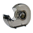 Scotch Tape Dispenser, Holds Total 1 Tape(s) - Refillable - Smoke