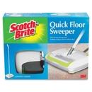 Scotch-Brite Quick Floor Sweeper, Rubber - White