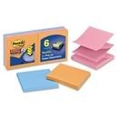 Post-it Super Sticky Electric Glow Pop-up Notes, Self-adhesive, Repositionable - 3