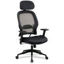 Office Star Space High Back Executive Chair, Black - Mesh Seat