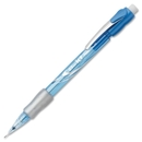 Pentel Icy Mechanical Pencil, #2, HB Pencil Grade - 0.5 mm Lead Size - Blue, Transparent Barrel - 12 / Dozen