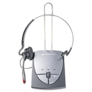 Plantronics S12 Telephone Headset System, Mono - Gray - Wired - Over-the-head, Over-the-ear - Monaural - 7 ft Cable - Noise Cancelling Microphone
