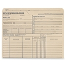 Quality Park Employee's Personnel Record Jacket, 9.50