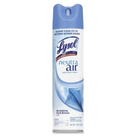 Lysol Neutra Air Freshener, Aerosol - 10 oz - Fresh, Price/EA