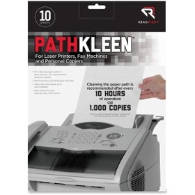 Advantus REARR1237 Read Right Pathkleen Laser Printer Cleaning Sheets, Read Right Pathkleen Laser Printer Cleaning Sheets, Price/PK
