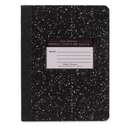 Roaring Spring Tape Bound Composition Notebook, 60 Sheet - 15 lb - Wide Ruled - 7.50