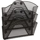 Safco Magnetic Triple File Pocket, 13.5