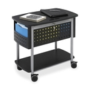 Safco Scoot Mobile File Cart, 200 lb Capacity - 4 x 3