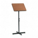 Safco Adjustable Speaker Podiums, Square - 21