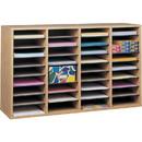 Safco 36 Compartment Adjustable Shelves Literature Organizer, 24