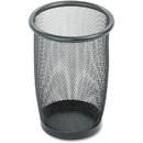 Safco Round Mesh Wastebasket, 3 gal Capacity - Round - 7.50