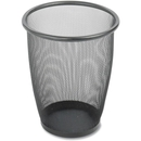 Safco Round Mesh Wastebasket, 5 gal Capacity - Round - 13