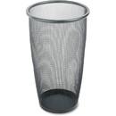 Safco Round Mesh Wastebasket, 9 gal Capacity - Round - 13.50