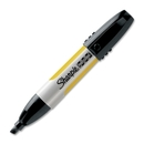 Sharpie Professional Markers, Chisel Marker Point Style - Black Ink - 1 Each