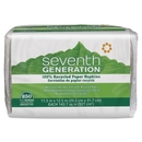 Seventh Generation 100% Recycled Napkins, 1 Ply - 250 Per Pack - 250 / Pack - 11.50