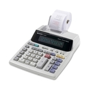 Sharp EL1801V Serial Printer Calculator, 12 Character(s) - Fluorescent - Power Adapter Powered - 10.1