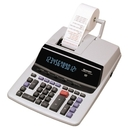 "Sharp VX2652H Commercial Print/Display Calculator, 12 Character(s) - Fluorescent - AC Supply Powered - 9.5"" x 12.5"" x 2.66"""
