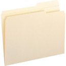Smead 10386 Manila File Folders with Reinforced Tab, Letter - 8.50
