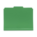Smead 10502 Green Poly Colored File Folders, Letter - 8.50