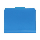 Smead 10503 Blue Poly Colored File Folders, 11.63