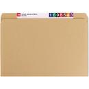 Smead 10710 Kraft File Folders with Reinforced Tab, Letter - 8.50