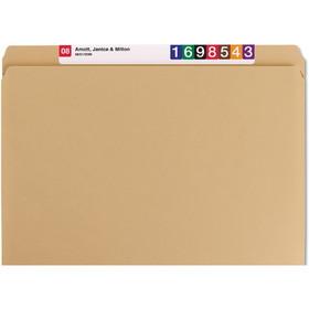 "Smead SMD10710 Smead 10710 Kraft File Folders with Reinforced Tab, Letter - 8.50"" x 11"" Sheet Size - 0.75"" Expansion - 11 pt. - Kraft - 100 / Box, Price/BX"