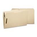 Smead 11537 Manila Fastener File Folders with Reinforced Tab, Letter - 8.50