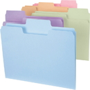 Smead 11961 Assortment Colored SuperTab File Folders with Oversized Tab