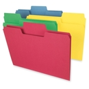 Smead 11988 Assortment Colored SuperTab File Folders with Oversized Tab, Legal - 8.50