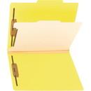 Smead 13704 Yellow Classification File Folders, Letter - 8.50