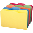 Smead 16943 Assortment Colored File Folders, Legal - 8.50