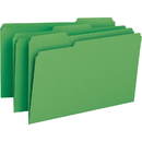 Smead 17143 Green Colored File Folders, Legal - 8.50