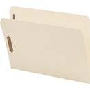 Smead 19513 Manila Fastener File Folders with Reinforced Tab