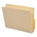Smead 24179 Manila End Tab File Folders with Reinforced Tab, Letter - 8.50