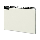 Smead 52576 Green Pressboard Guides with Alphabetic Indexed Sets, 25 x Tab - PrintedA - Z - 5 Tab(s)/Set - 8.50