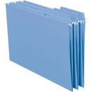 Smead 64099 Blue FasTab Hanging Folders, Letter - 8.50