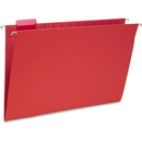 Smead 64167 Red Colored Hanging Folders with Tabs, Legal - 8.50