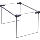 Smead 64855 Gray Hanging Folder Frames, Drawer Size Supported - Steel, Plastic - 2/Box - Silver