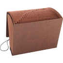 Smead 70318 Leather-Like TUFF Expanding Files with Flap and Elastic Cord, Letter - 8.50