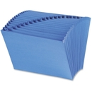 Smead 70727 Blue A-Z Expanding File with Antimicrobial Product Protection, 10