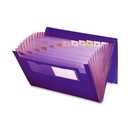 Smead 70879 Purple Poly Ultracolor Expanding Files, 9.25