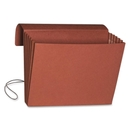 Smead 71111 Redrope Expanding Wallets with Elastic Cord, 10