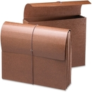 Smead 71353 Leather-Like Expanding Wallets with Elastic Cord, 9.50