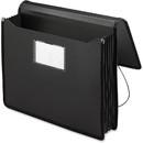 Smead 71500 Black Poly Premium Wallets, Letter - 8.50